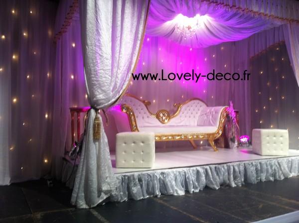 decoration mariage boollywood sur paris. Black Bedroom Furniture Sets. Home Design Ideas