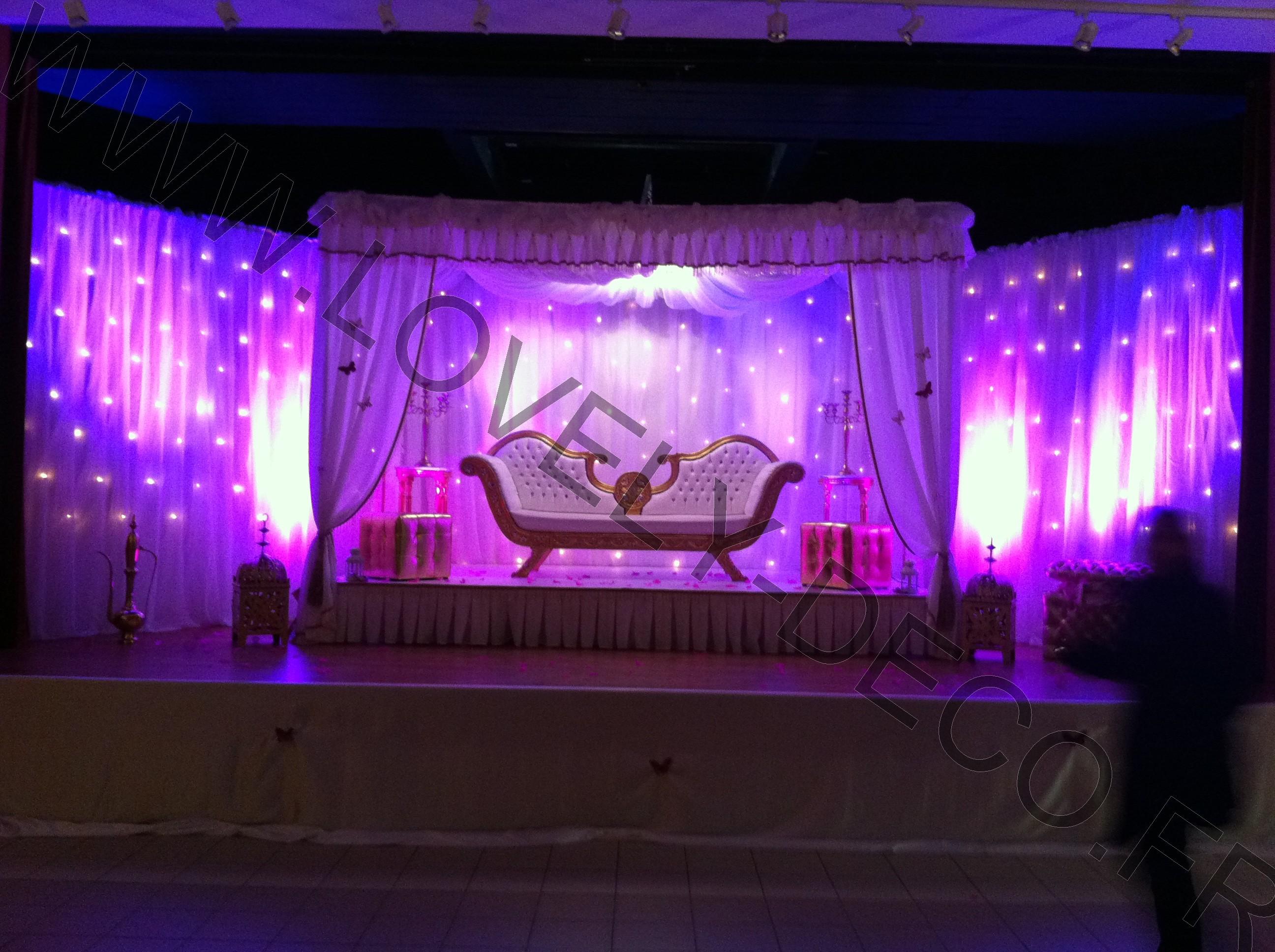 Location dcoration mariage oriental